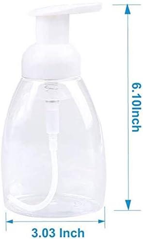 Sapone Schiumogeno per Mani Su Lavelli da Cucina e Bagno Easy Press Pump per Kids SODIAL Confezione da 8 Bottiglie di Dispenser di Sapone Schiumogeno