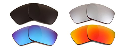 Best SEEK Replacement Lenses Oakley FUEL CELL - Black Black Red - Cheap Fuel Sunglasses Oakley Cell