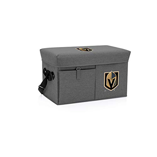NHL Vegas Golden Knights Ottoman Insulated Collapsible Cooler/Picnic Tote