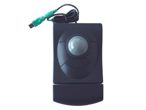 iOne Libra 90 PU Ergonomic Trackball Mouse PS/2 + USB White Color
