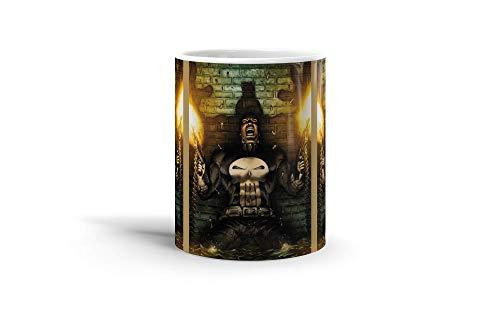 Ceramic Coffee Mug Comic Strip Cup Guns Blazing Comics Comedian Drinkware Super White Mugs Family Gift Cups 11oz 325ml