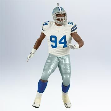 DeMarcus Ware Football Dallas Cowboys 2011 Hallmark Ornament