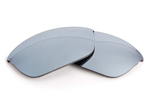 FUSE Chrome Mirror Tint Replacement Lenses for Oakley Half Wire - Lenses Replacement Half Wire Oakley