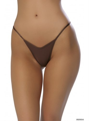 Roma Costume String Back G-String Nude One Size Fits Most