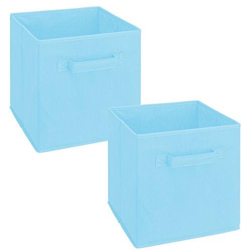 light blue bin - 4