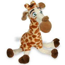 Russ Berrie Madagascar Melman The Giraffe 9 inch Plush Toy Stuffed Animal]()