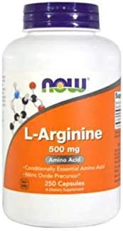 LArginine Amino Acid 500 MG 250 Tablets