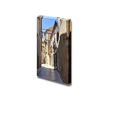Canvas Prints Wall Art - Alleyway. Acerenza. Basilicata. Italy. - 24