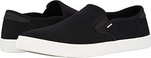 TOMS Men's Baja Slip-On Shoes, Size: 9.5 D(M) US, Color: Blk Heritage -