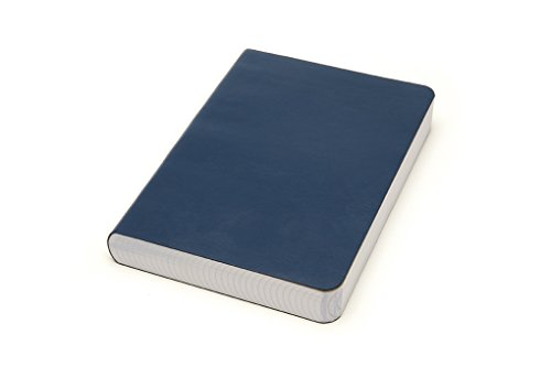 Miquelrius Soft Bound Journal, Blue (6 x 8, Lined 300 SHEETS/600 PAGES)