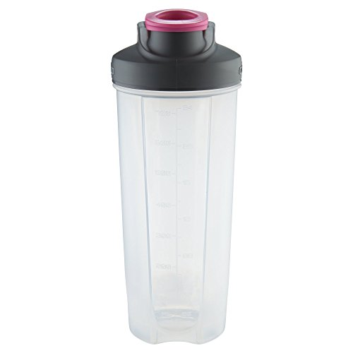 Contigo Shake & Go Fit Snap Lid Shaker Bottle, 28 oz., Neon Pink