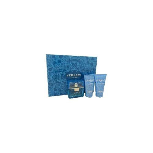 Versace Man Eau Fraiche By Versace For Men - 3Pc Gift Set - 1.07 Edt Spray by Versace