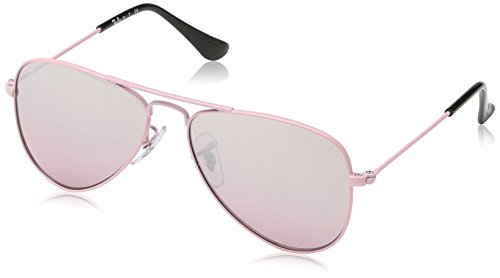 Ray Ban Jr. Boys Ray-ban Kids Aviator Junior, Pink, 50 mm (Ray Ban Kids Frames compare prices)