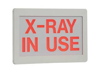X-RAY In Use Sign - All LED - Universal Mount -Battery Back up