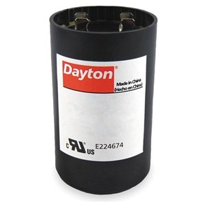Motor Start Capacitor, 233-280 MFD, Round