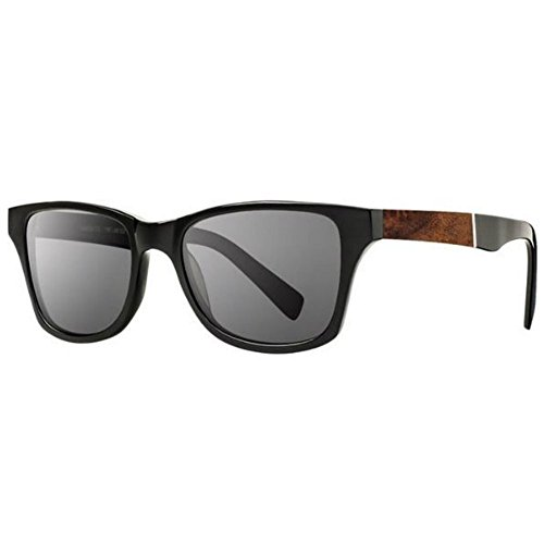 Shwood - Canby Acetate, Sustainability Meets Style, Black/Elm Burl, Grey - Canby Shwood