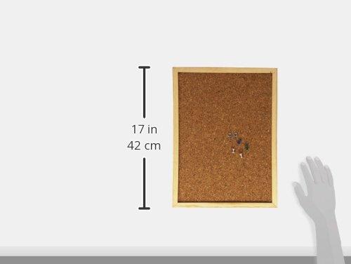 30 x 40 cm,colore Bacheca in sughero Makro Paper 220225 Legno
