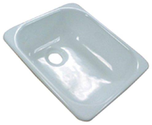 Kinro Composites Lippert 209630 Kinro Acrylic Single Sink - White