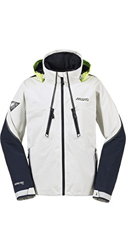 2016 Musto MPX Race Lite Jacket in Platinum SM0023 Size - - Extra Large (Mpx Musto Race)