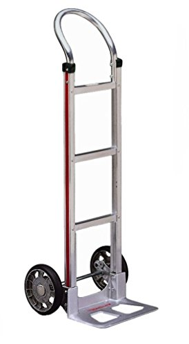 Handle Truck - Magliner HMK111AA1 Aluminum Hand Truck, Horizontal Loop Handle, 14