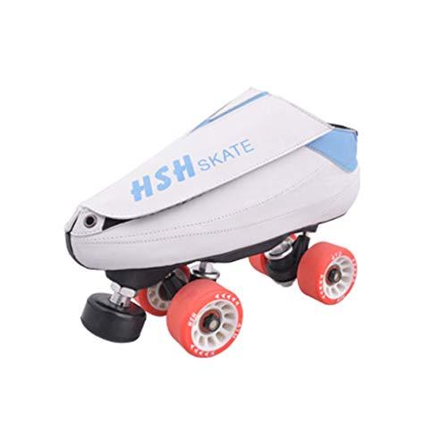 オズワルドチャンバーなぜならLIUXUEPING ローラースケート、 二列のスケート、 ホイールダンスシューズ、 スピードスケート靴 ブラシストリートシューズ ダブルロースケート