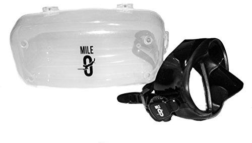 Mile 0 Dive Gear low volume mask for freediving, snorkeling, scuba, or - Prescription Glasses Mako