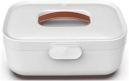 HSJLH Tragbare Kleidung Kasten, Unterwäsche Sterilisationsmaschine für Wäsche, Unterwäsche, Handtücher, Babyprodukte,Weiß