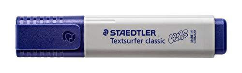 Staedtler 364 C820. Rotulador fluorescente Textsurfer Classic. Marcador de color gris claro