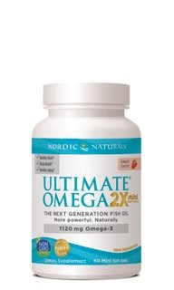 Ultimate Omega Minis - Strawberry Nordic Naturals 60 Softgel