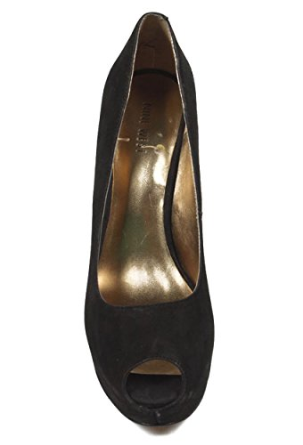 NINE WEST - Zapatos De Tacón Mujer - Pump Punta Abierta NWKABOOSE BLACK Tacón: 12 cm