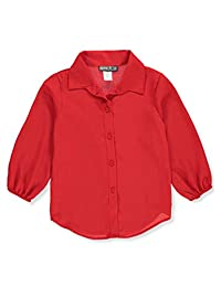 George-A-Ltd Girls' Button-Down Top