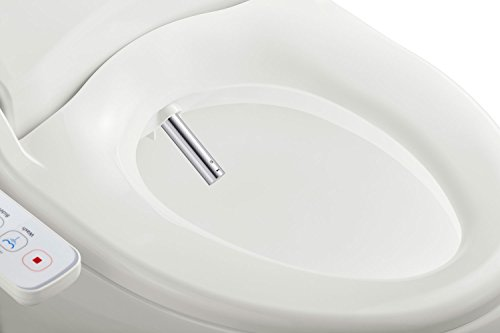 Brilliant Bio Bidet Slim One Smart Toilet Seat In Elongated White With Stainless Steel Self Cleaning Nozzle Nightlight Turbo Wash Oscillating And Fusion Caraccident5 Cool Chair Designs And Ideas Caraccident5Info