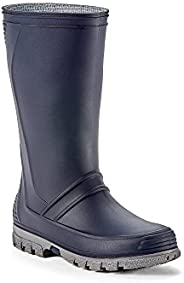 Yellow Shoes - Stormm - Kid's Rain Boots - Rubber Mid-Calf Rainwear Boots Made from Durable PVC - Casual &