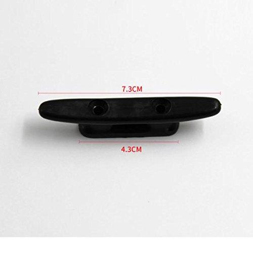 Sharplace 2 Piezas Cornamusa de Barco Dispositivo para Sujeci/ón Cuerda