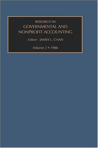 Research in governmental and non-profit accounting, Volume 2