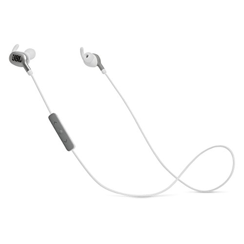 JBL Everest 110GA Wireless Bluetooth in-Ear Headphones with Voice Activation and Three-Button Remote and Microphone - Silver