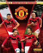 MANCHESTER UNITED 2009-10 STICKER COLLECTION - FULL BOX 50 PACKETS MAN UTD PANINI