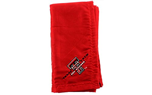 TTUBB - Texas Tech Red Raiders Baby - Blanket - Officially Licensed - Happy Feet & Comfy Feet