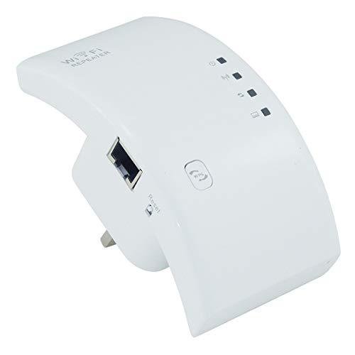 Leyeet 300M 2.4GHZ WiFi Booster Amplifier Wireless Range Extended Internet Signal Enhancer WPS