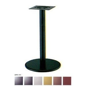 e-kanamono テーブル脚 ラウンドS7400 ベース400φ パイプ60.5φ 受座240x240 基準色塗装 AJ付 高さ700mmまで シルバーメタリック B012CF4W2M シルバーメタリック シルバーメタリック