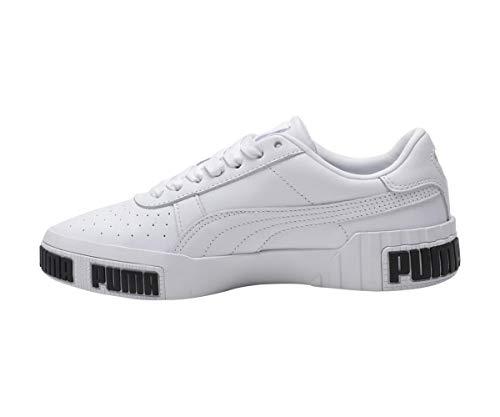Puma Damen Cali Bold WN's' Sneaker, White-Metallic Gold 01, 38 EU 3