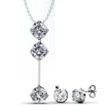 MyC–Juego Dazzling Jewelry (cristal Swarovski Elements