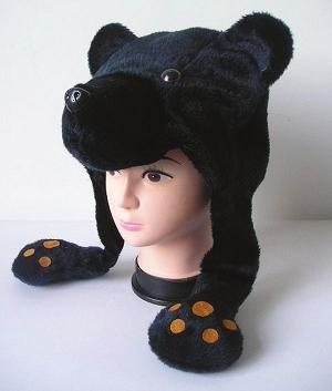 Jacobson Hat Company Plush Bear Hat
