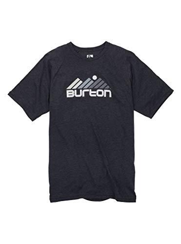 - Burton Men's Gosstown Short Sleeve Tee, True Black Heather, Medium