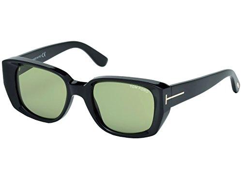Shiny 52 Black Hombre 01N Gafas Tom Green Ford de Sol para nxPqWpawC
