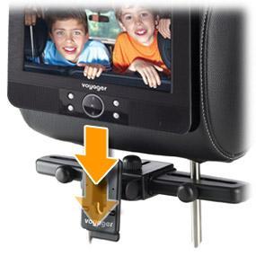 voyager tragbarer dvd player 22 8 cm 9 zoll lcd display. Black Bedroom Furniture Sets. Home Design Ideas