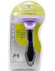 Furminator Long Hair deShedding Tool for Small Cats
