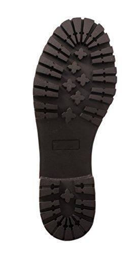 Elara Chelsea Boots | Bequeme Damen Stiefeletten | Profilsohle Blockabsatz, , Schwarz