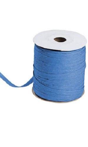 Royal Blue Matte Raffia Ribbon Gift Wrap Wedding 1/2'' Wide 500 Yards Bow by retail-warehouse