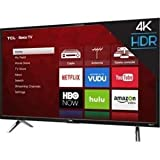 "TCL 55S405 LED 4K 120 Hz Wi-Fi Roku Smart TV, 55"" (Renewed)"